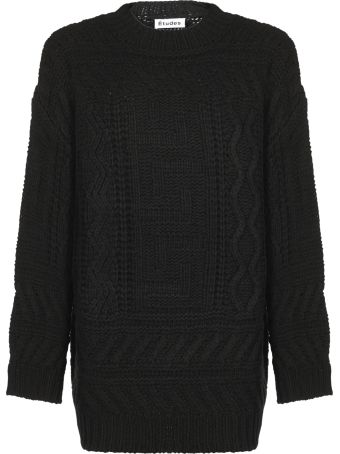 Études Etudes Chunky Knitted Sweater