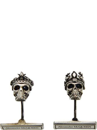 Alexander McQueen Queen And King Cufflinks
