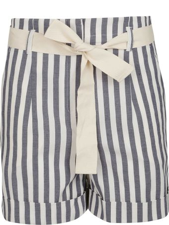 SEMICOUTURE Striped Shorts