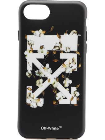 Off-White Off White Cotton Print Iphone 8 Case