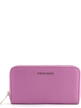 Orciani Fuchsia Leather Wallet
