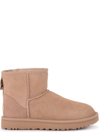 UGG Classic Ii Mini Suede Sheepskin Ankle Boots
