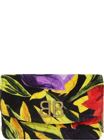 Balenciaga Logo Plaque Shoulder Bag