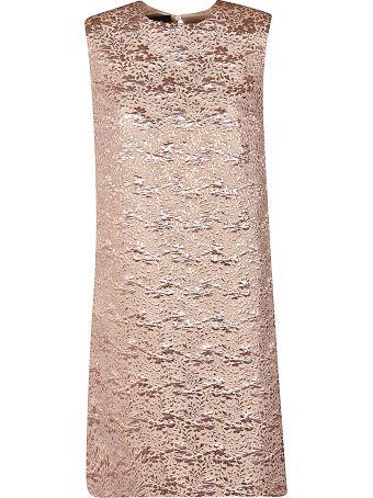 Rochas A-line Jacquard Dress