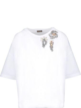 Malìparmi Maliparmi Crystal Embellished T-shirt