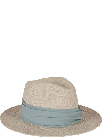 Fabiana Filippi Lace-up Detail Hat