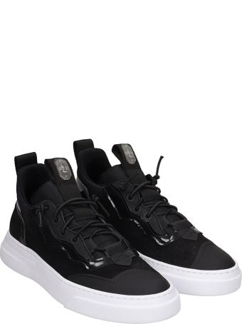 Bruno Bordese Sneakers In Black Nubuck