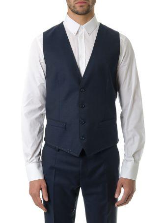 Dolce & Gabbana Blu Classic Suit In Wool