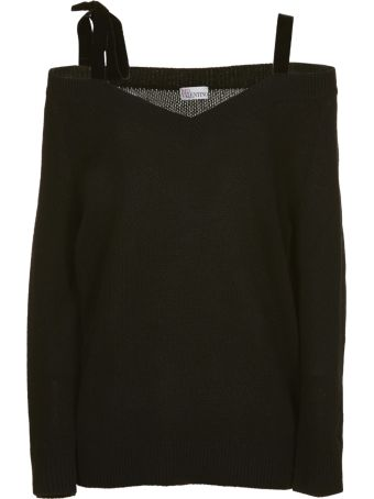 RED Valentino Off-the-shoulder Sweater