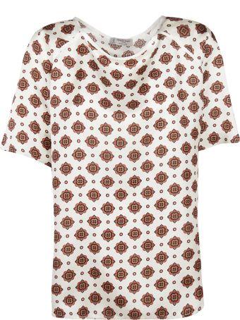 Alberto Biani Floral Print Oversized T-shirt