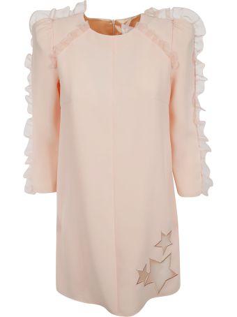 Elisabetta Franchi Celyn B. Elisabetta Franchi For Celyn B. Ruffled Sleeve Detailed Dress