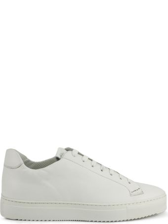 Doucal's Sneakers In White Suede Leather