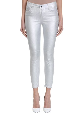 RTA Metallic Skinny Pants