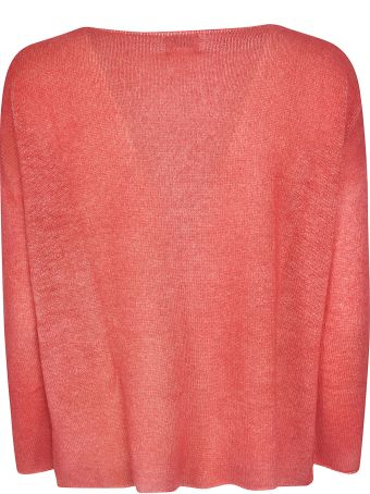 f cashmere Lace Knit Sweater