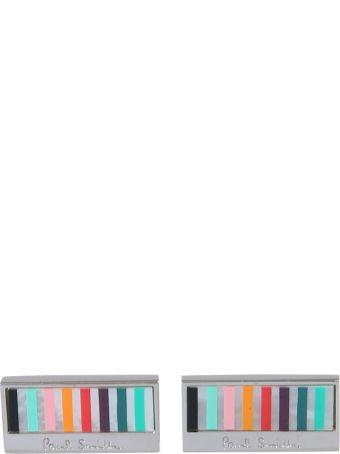 Paul Smith Multi-striped Cufflinks