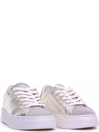 Crime london Crime London Silver Leather Sneaker