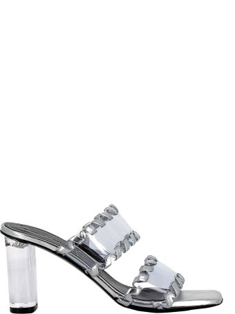 Kendall + Kylie Kendall+kylie Clear/silver Leather Sandals