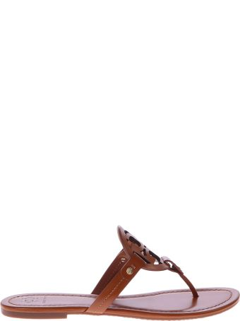 Tory Burch Brown Miller Sandals