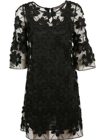 D.Exterior Floral Dress