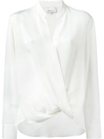 3.1 Phillip Lim Wrap-effect Silk-crepe Shirt