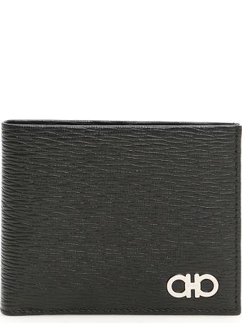 Salvatore Ferragamo Bicolor Gancini Revival Wallet