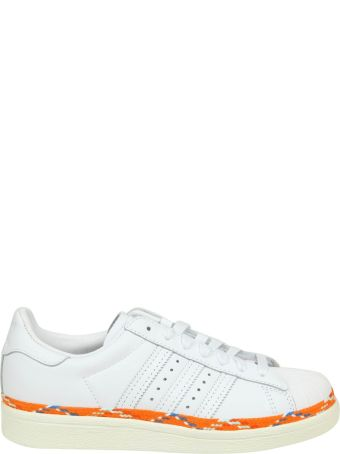 Adidas Originals Sneakers Sst 80s New Bold In White Leather