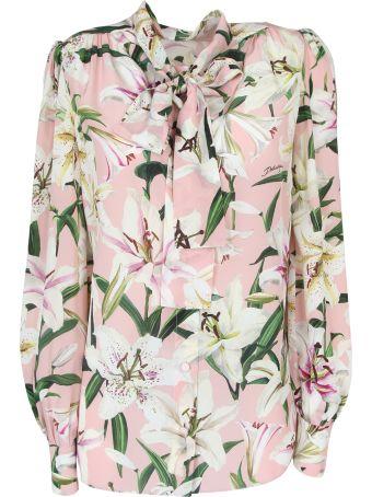 Dolce & Gabbana Camicia Stampa Floreale