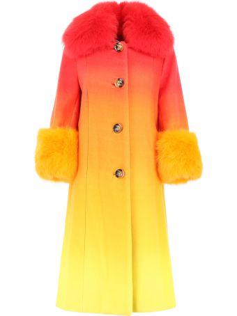 Saks Potts Yvonne Coat With Fur