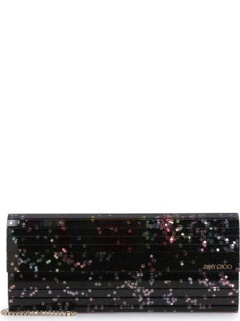 Jimmy Choo Sweetie Glitter-acrylic Box Clutch