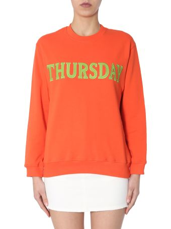 Alberta Ferretti Crew Neck Sweatshirt