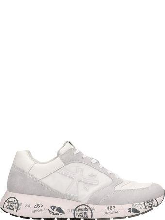 Premiata White Nylon Zaczac Sneakers