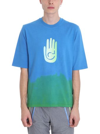 Cottweiler Blue Cotton T-shirt