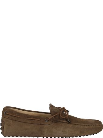 Tod's Bow-laced Detail Driving Shoes