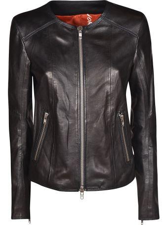 S.W.O.R.D 6.6.44 Round Neck Zipped Jacket