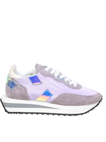 GHOUD Sneakers Rush In Leather Color Lilac