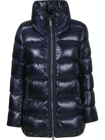 Add Zipped-up Padded Jacket