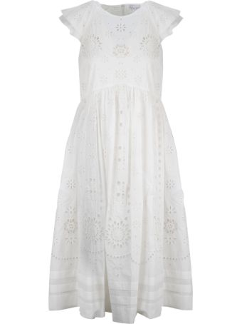 RED Valentino Sangallo Embroidered Dress