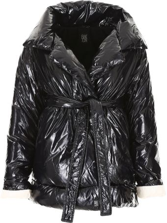 Bacon Clothing Belted Puffer Jacket