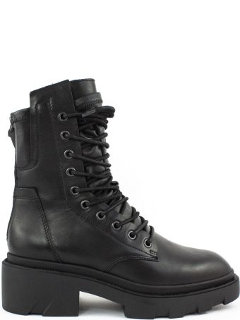 Ash Black Leather Madness Boots