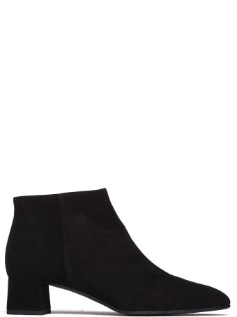 Fratelli Rossetti Ankle Boots In Black Suede