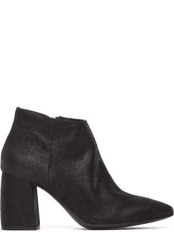 Janet & Janet Meg Black Ankle Boots