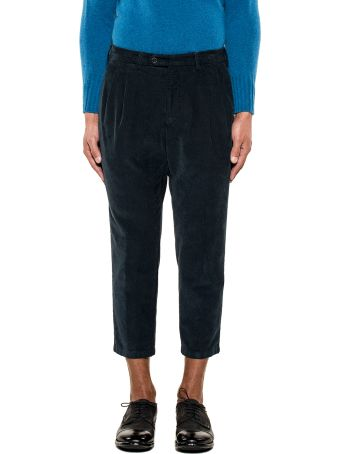 Drumohr Blue Ribbon Velvet Trousers