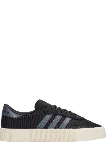Adidas Black Technical Fabric Sambarose W Sneakers