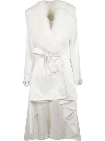 Elisabetta Franchi Celyn B. Fur Trench Coat