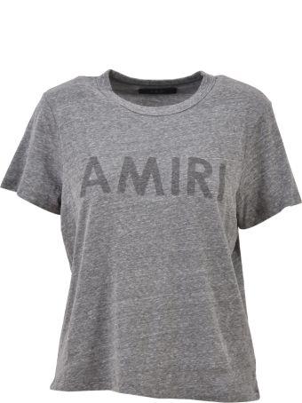 AMIRI Logoed Tee Grey