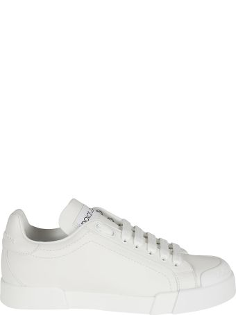 Dolce & Gabbana Classic Logo Patched Sneakers