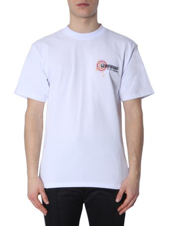 GCDS T-shirt With Map Print