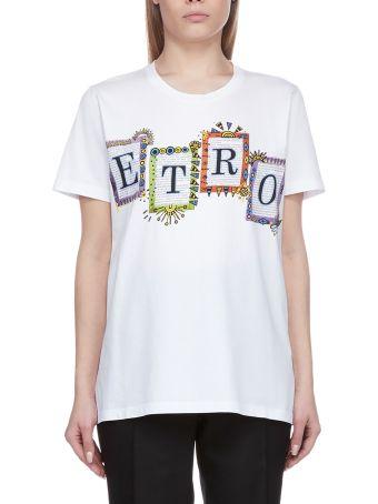 Etro Logo Print T-shirt