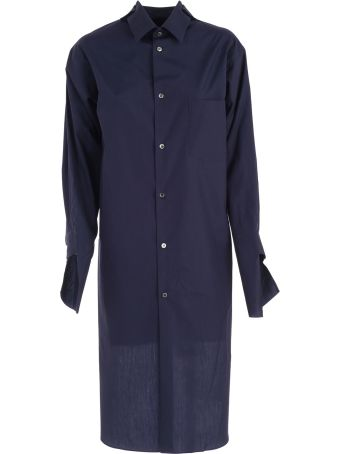 Comme des Garçons Asymmetric Shirt Dress
