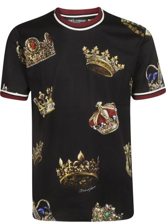 Dolce & Gabbana Crown Print T-shirt
